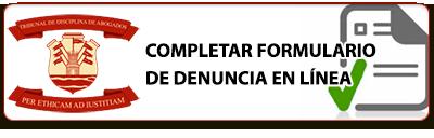 completar formulario de denncia en linea
